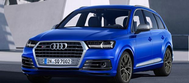 Audi SQ7: motore da 435 cavalli.
