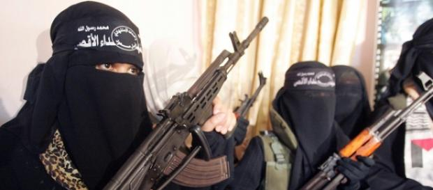 Guerrigliere dell'autoproclamato Stato Islamico