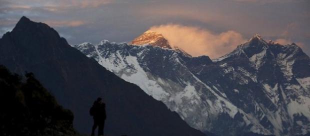 Imagen del paisaje del monte Everest