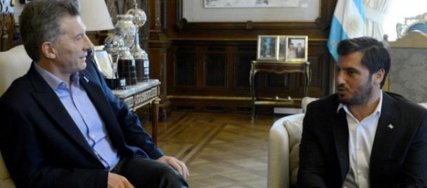 Macri y Pichot acordaron presentar la candidatura de Argentina al Mundial de 2017