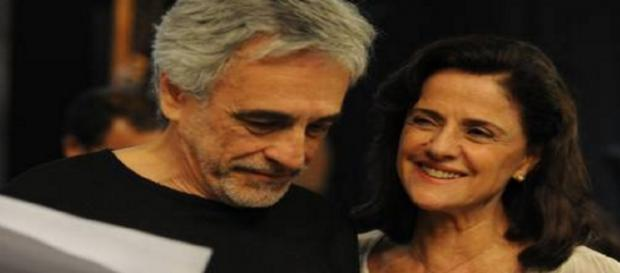 Marieta Severo e marido - Foto/Reprodução: Google