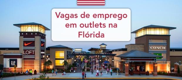 Outlets da Flórida tem centenas de oportunidades de trabalho - Foto: Reprodução Simon