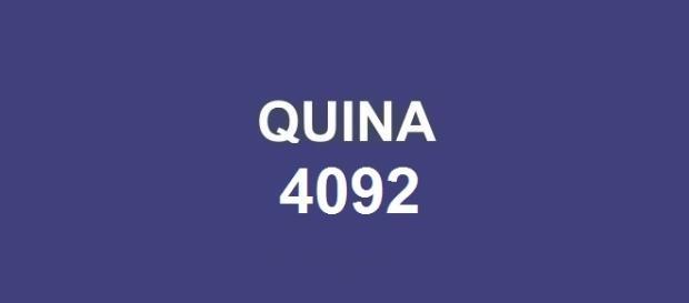 Premiação 4092 será divulgada nessa terça-feira; Resultado da Quina com prêmio de R$ 4,7 milhões.