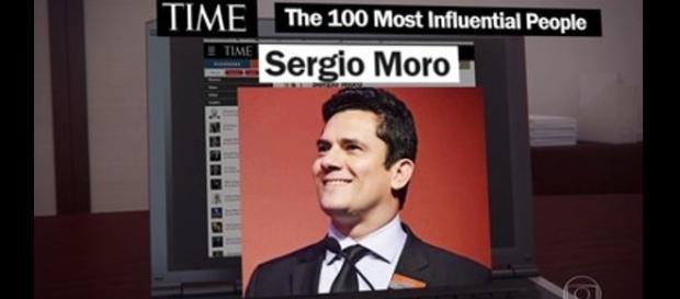 """Umd dos 100 mais influentes do mundo, o juiz Sérgio Moro continua liderando """"Operação Lava-Jato"""" (Fonte: Blog Reencontrando sua Alma)"""