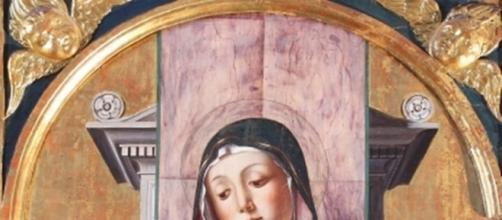 Alvise Vivarini, Madonna col Bambino (1483), Sant'Andrea, Barletta.