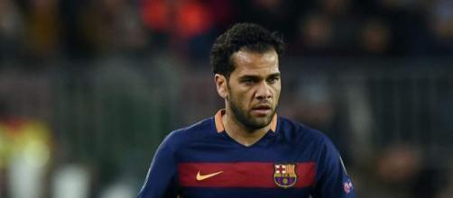 Dani Alves, terzino destro del Barcellona