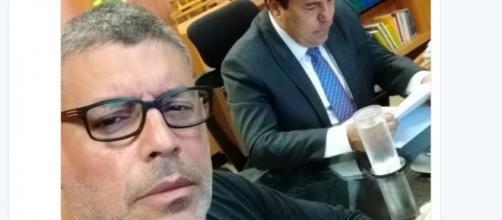 Encontro de Frota com ministro gerou bate-boca entre famosos