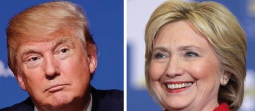 Hillary Clinton Donald Trump Dos personajes totalmente opuestos, ELLA Demócrata, ÉL Republicano