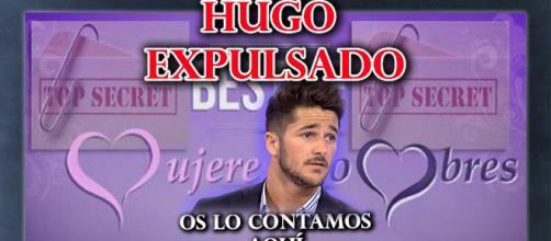 Hugo expulsado del programa ...