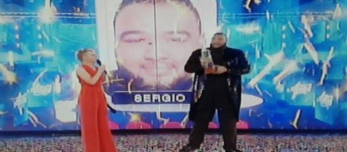 Il vincitore di 'Amici15' Sergio Sylvestre