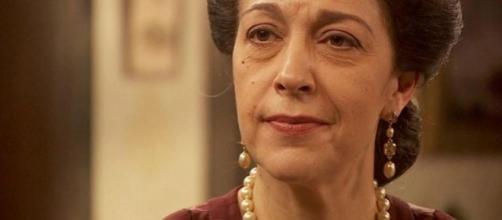 Maria Bouzas, una delle principali protagoniste de 'Il Segreto'.