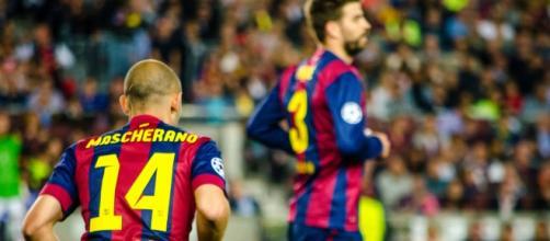 Mascherano, uno de los fijos de la defensa FC Barcelona