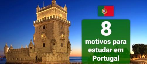 Motivos para estudar em Portugal. Foto: Reprodução Hibonus.