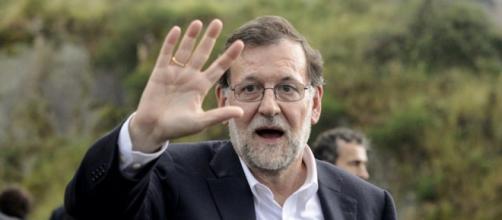 Rajoy fue recibido en Valencia bajo los gritos de corruptos y chorizo.