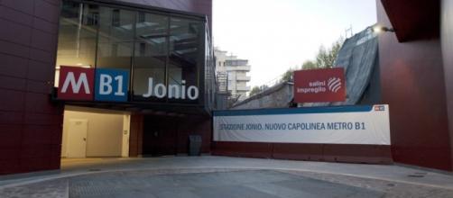 Roma: metro B1 capolinea Jonio