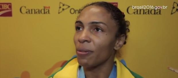 Érika Miranda é uma das grandes apostas para o #Rio2016. (Via Youtube)