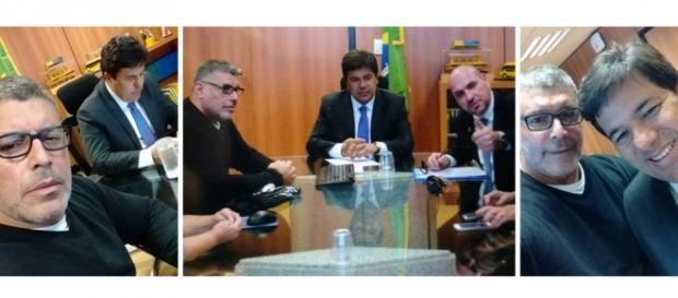 Ministro da Educação recebe Alexandre Frota e membros do Revoltados On Line.