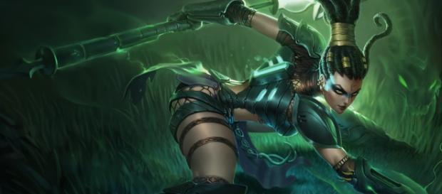 Nidalee, campeona de League of Legends