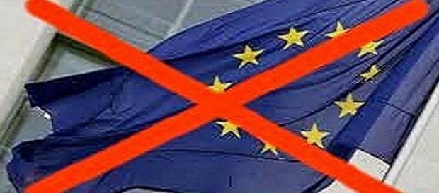 No alla UE da parte del Fronte Sovranista Italiano e Alternativa per l'Italia.
