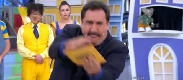Ratinho critica artistas que usam Lei Rouanet