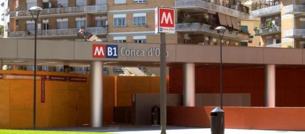 Roma, metro B1, stazione Conca d'Oro