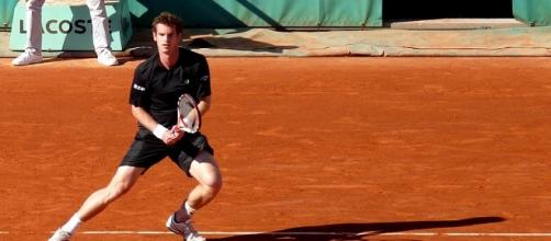 Andy Murray during 2009 Roland Garros/ Photo: Yann Caradec via Flickr CC BY-SA 2.0