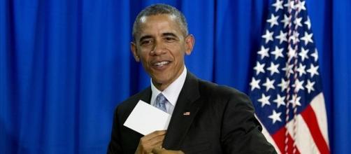 Fotografía del actual presidente de EEUU - Barack Obama