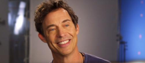 Tom Cavanagh on an interview on sets of 'The Flash' as seen on a YouTube Video.