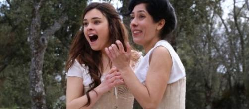 Una Vita, anticipazioni puntate spagnole: Leonor e Rosina scoprono l'oro!
