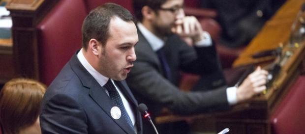 Il parlamentare del Movimento Cinque Stelle, Manlio Di Stefano