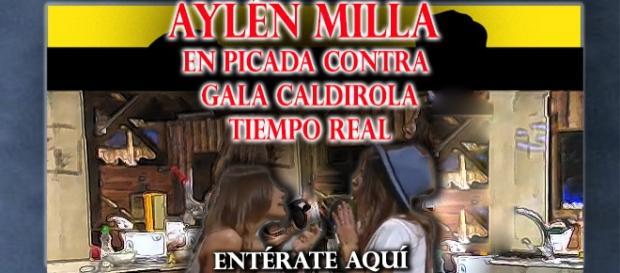 Las declaraciones de Aylén en contra de Gala aquí