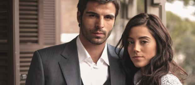 O casal protagonista de 'Sila, Prisioneira do Amor'.