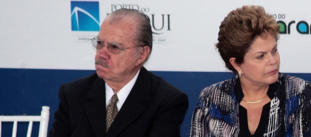 O ex-presidente José Sarney se preocupou sobre a situação da presidente afastada Dilma Rousseff, numa possível delação de Marcelo Odebrecht.