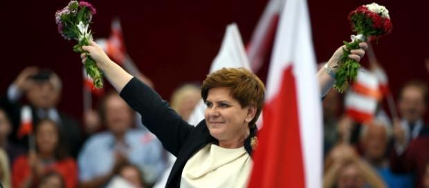 Premier Beata Szydło w Bełchatowie