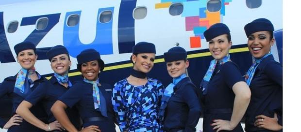 Tripulação da Azul Linhas Aéreas Brasileiras