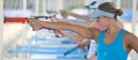 Iryna Khokhlova y Emmanuel Zapata representarán al pentatlón moderno argentino en los Juegos Olímpicos de Río