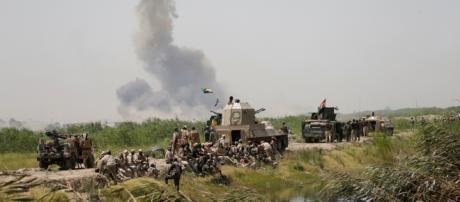 le forze irachene entrano a falluja