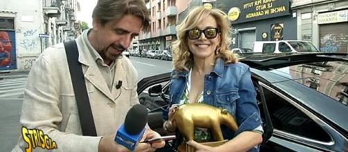 Barbara d'Urso: Tapiro d'Oro di Striscia la Notizia