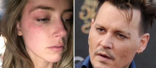 Depp é acusado de violentar sua atual esposa Amber Heard.
