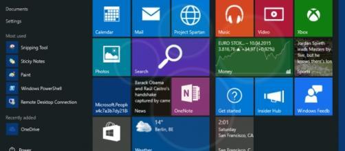 Foto de la barra de tareas de Windows 10