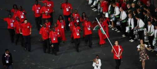 Kenya - London 2012 Opening Ceremony / by Marc, via Flickr cc by sa 2.0