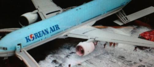 L'incendio al motore del boeing 777 della Korean Air