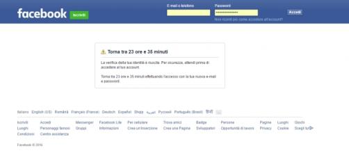 Virus Facebook cambia la password