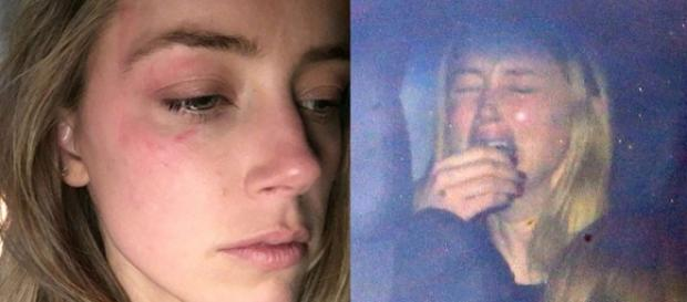 Atriz foi fotografada chorando dentro de carro