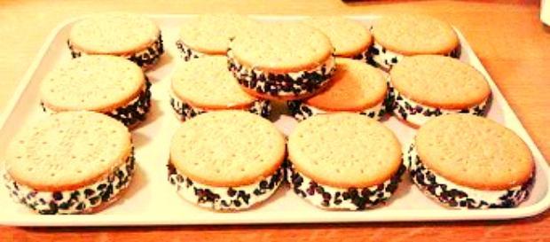 Biscotto gelato Cookies: ricetta velocissima