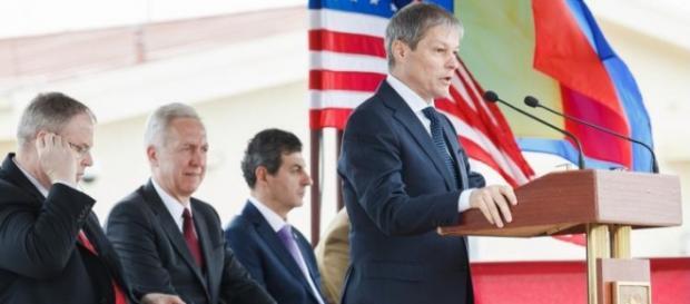 Dacian Cioloş la inaugurarea bazei de la Deveselu