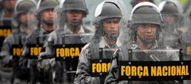 Força Nacional chegou nesta quarta-feira, dia 26, em Fortaleza
