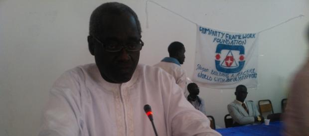 Halifa Sallah, PDOIS presidential nominee in December polls / Sulayman Bah, PDOIS