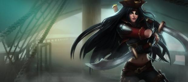 Katarina Aguas Estancadas, aspecto de Katarina