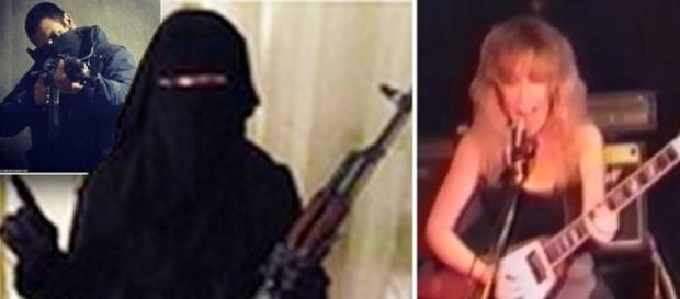 """Sally Jones, da """"rockstar occulta"""" a miliziana dell'Isis"""